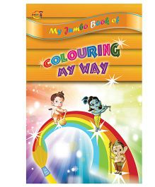 Coloring My Way Book - English
