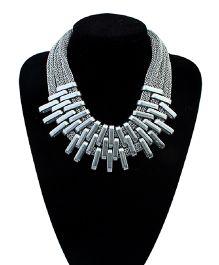 Dells World Multi Layer Necklace - Silver