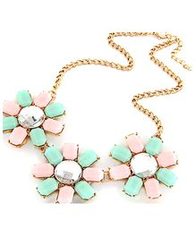 Dells World Flower Necklace - Multicolour