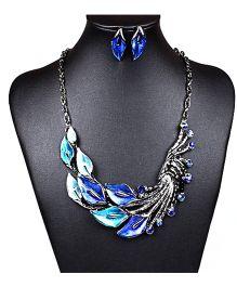 Dells World Stone Necklace - Blue