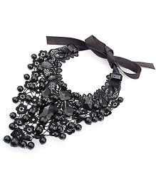 Dells World Beads Necklace - Black