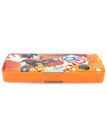Disney Mickey Mouse Magnetic Pencil Box - Orange