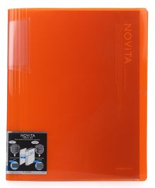 Kokuyo Display FIle with 40 Pockets - Red