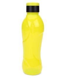 Cello Homeware Splash Sipper Flip Open Water Bottle Lemon Yellow And Black - 1000 ml