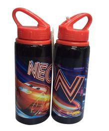 Disney Pixar Cars Water Bottle Black - 600 ml
