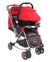 Sunbaby Rocking Travel System SB-K614 S - Red