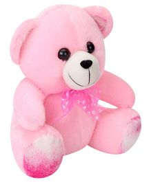 Liviya Button Teddy Soft Toy Light Pink - 25 cm