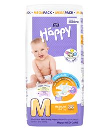 Bella Baby Happy Diapers Medium - 38 Pieces