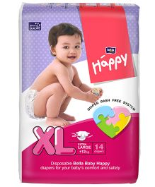 Bella Baby Happy Diapers Extra Large - 14 Pieces