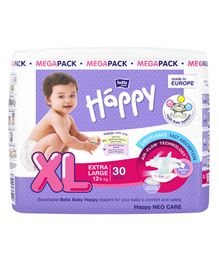 Bella Baby Happy Diapers Extra Large - 30 Pieces