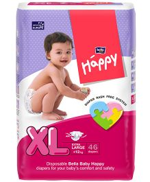 Bella Baby Happy Diapers Extra Large - 46 Pieces