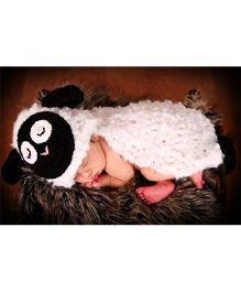 The Original knit Sheep photoprop - White