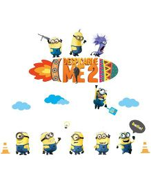 Studio Briana Despicable ME 2 Minion Artistic Wall Decal - Multicolor