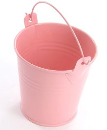 Planet Jashn Mini Metal Favor Buckets Pack of 8 - Light Pink