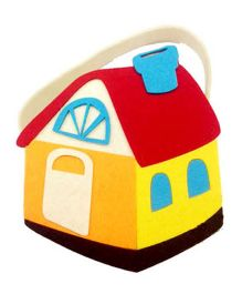 Planet Jashn House Shape Felt Bag - 1 Piece