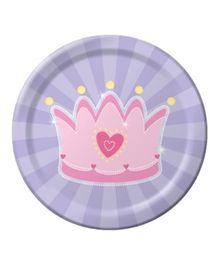 Planet Jashn Fairy Tale Princess Plates - 8 Pieces