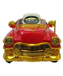 Like Toys Vintage Car Battery Operated Ride-On With Remote Control - Red