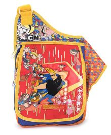 Jhonny Bravo Sling Bag Multicolor - 15 Inches