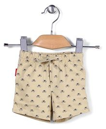 Spark Shorts Cycling Print - Off White