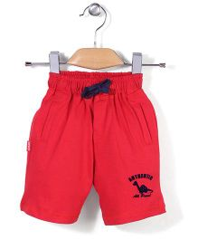Spark Casual Shorts Authentic Print - Red