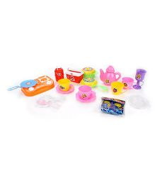 Kids Zone Junior Chef Kitchen Toys For Kids - Multicolor