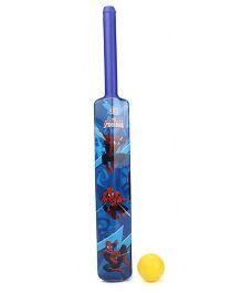 Spiderman Plastic Bat And Ball Set