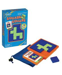 Thinkfun Square by Square Game - Multicolor