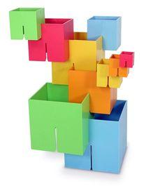 Fat Brain Toys Dado Cubes Original - Multicolor