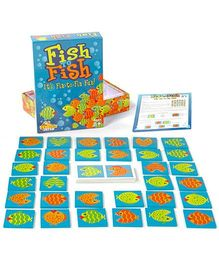 Fat Brain Toys Fish to Fish Game - Multicolor