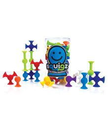 Fat Brain Toys Squigz Starter Set - Multicolor