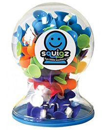 Fat Brain Toys Squigz Deluxe Set - Multicolor