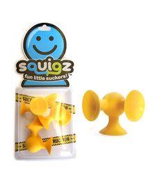 Fat Brain Toys Squigz Skooch Add on Set - Yellow