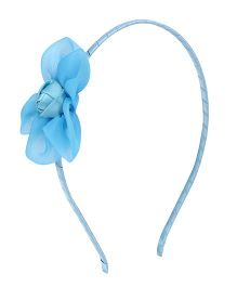 Angel Closet Rose Hairband - Blue