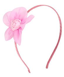 Angel Closet Rose Hairband - Light Pink
