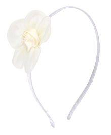 Angel Closet Rose Hairband - Ivory