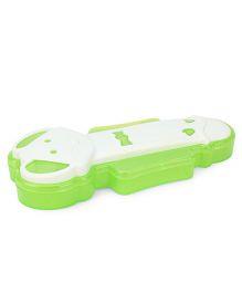 Pratap Nino Mouse Pencil Box - Green