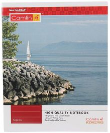 Camlin Small Single Line Notebook Soft Cover - 164 Pages