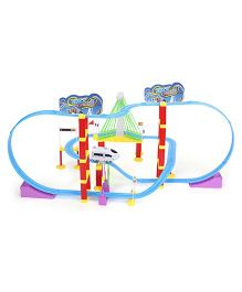 Smiles Creation Big Changeable Track Racer Stunt Paradise Track Set - Multicolor