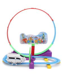 Smiles Creation Train Track Racer Set  - 32 Pieces