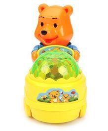 Smiles Creation Scrazy Smart Lucky Bear - Orange & Yellow