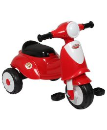 EZ' Playmates Italian Scooter With Pedal - Red