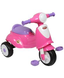EZ' Playmates Italian Scooter With Pedal - Pink