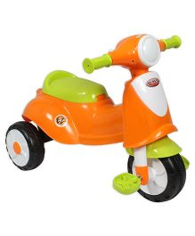 EZ' Playmates Italian Scooter With Pedal - Orange