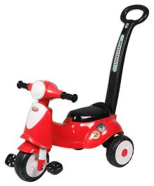 EZ' Playmates Italian Scooter With Navigator - Red