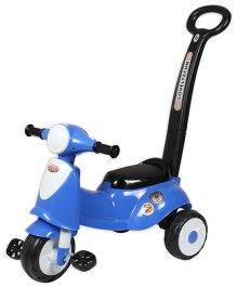 EZ' Playmates Italian Scooter With Navigator - Blue