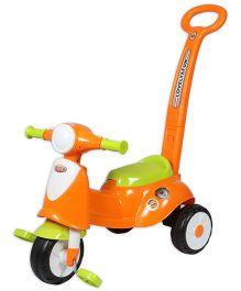 EZ' Playmates Italian Scooter With Navigator - Orange