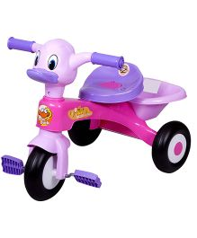 EZ' Playmates Duck Tricycle - Pink And Purple