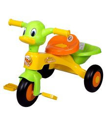 EZ' Playmates Duck Tricycle - Yellow And Green