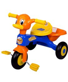 EZ' Playmates Duck Tricycle - Blue And Orange