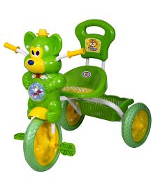 HLX NMC Fun Mouse Musical Tricycle - Green